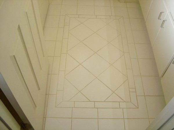 The Oustanding Digital Imagery Is Segment Of Bathroom Floor Tiles