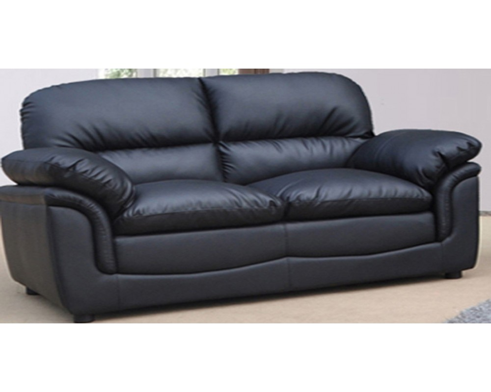 Black Leather 2 Seater Sofa Decor Ideasdecor Ideas
