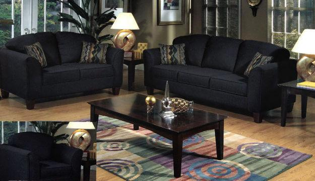 Black living room table sets decor ideasdecor ideas for Black living room furniture sets