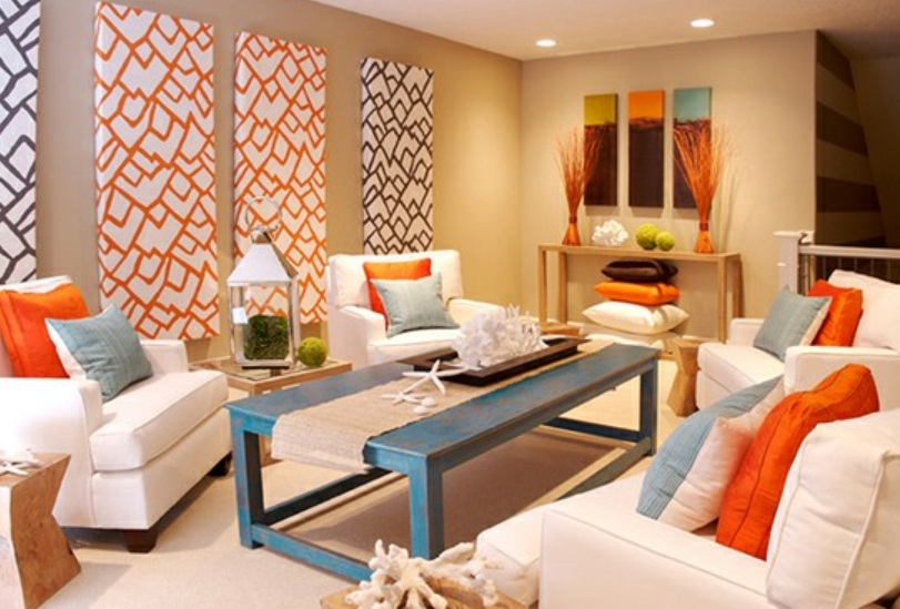 Bright living room colors decor ideasdecor ideas for Bright coloured living room ideas