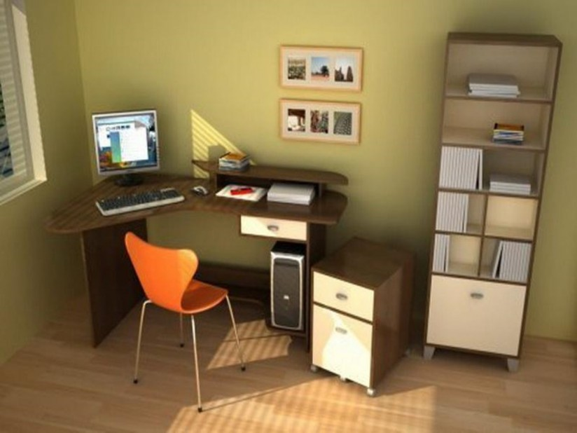 Cheap home office ideas decor ideasdecor ideas for Decoracion de oficinas modernas