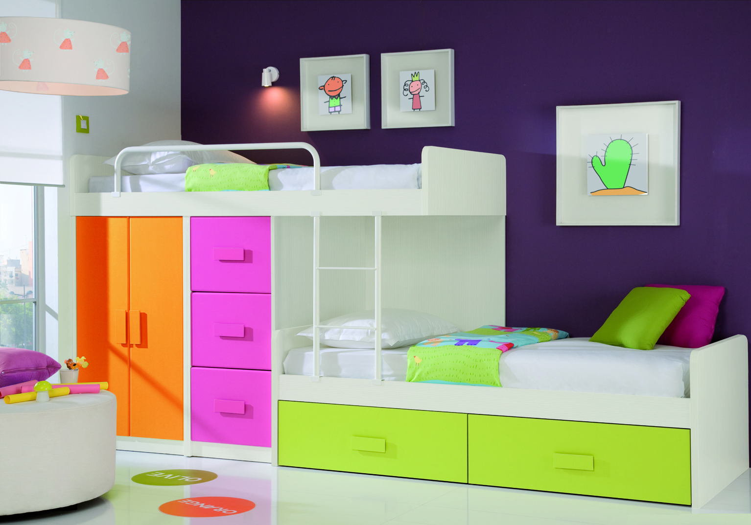 Contemporary kids bedroom furniture nz decor ideasdecor for Modern bunk beds for kids