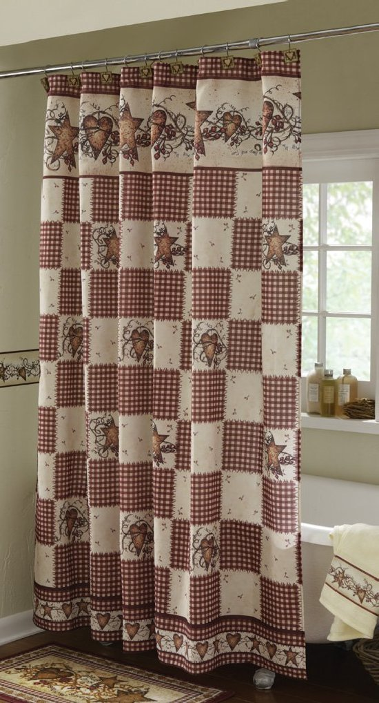 country shower curtain country shower curtain sets decor ideasdecor