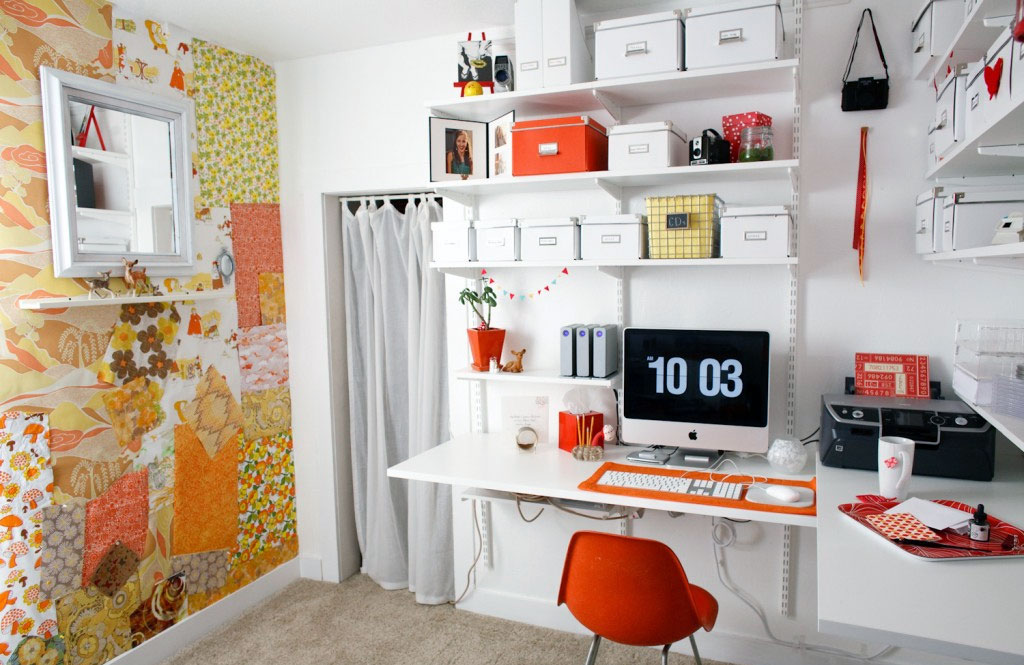 Creative home office ideas decor ideasdecor ideas for Creative home designs