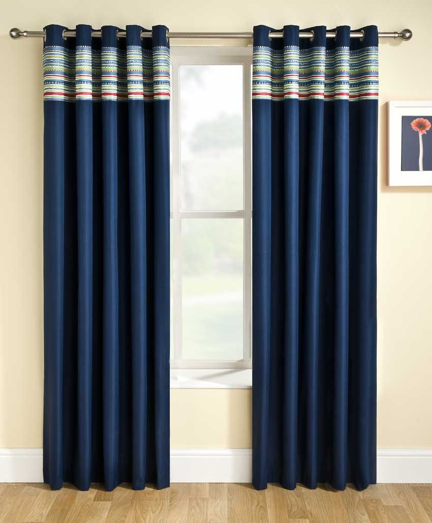 dark bedroom curtains images