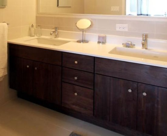 Double sink bathroom vanity cabinets decor ideasdecor ideas for Bathroom cabinet sink ideas
