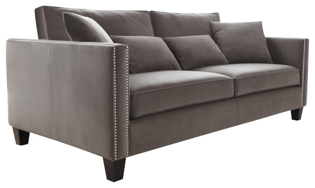 Grey Contemporary Sofa Decor IdeasDecor Ideas