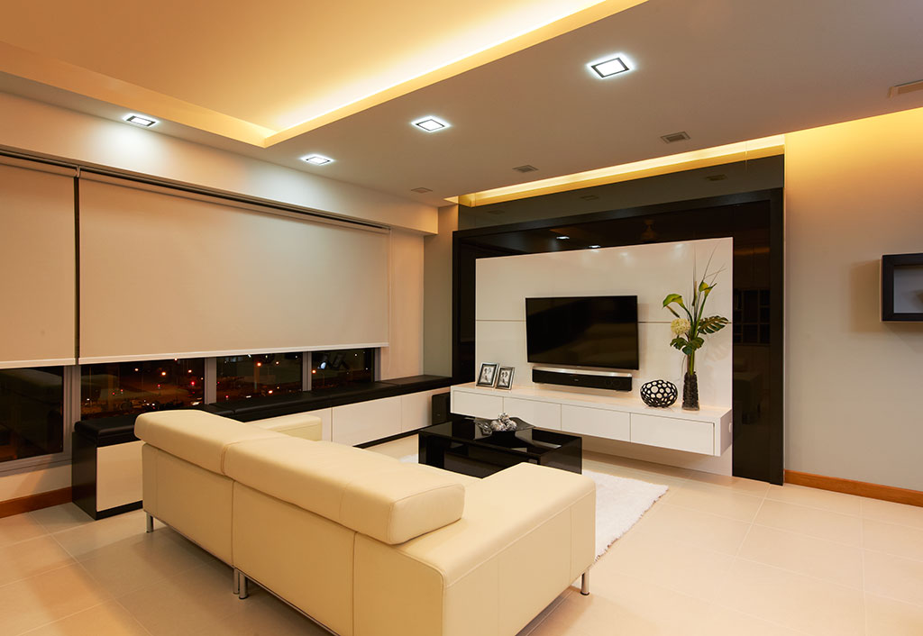 Hdb living room design decor ideasdecor ideas for Interior design renovation