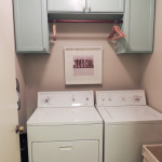 Hanging Laundry Room Cabinets