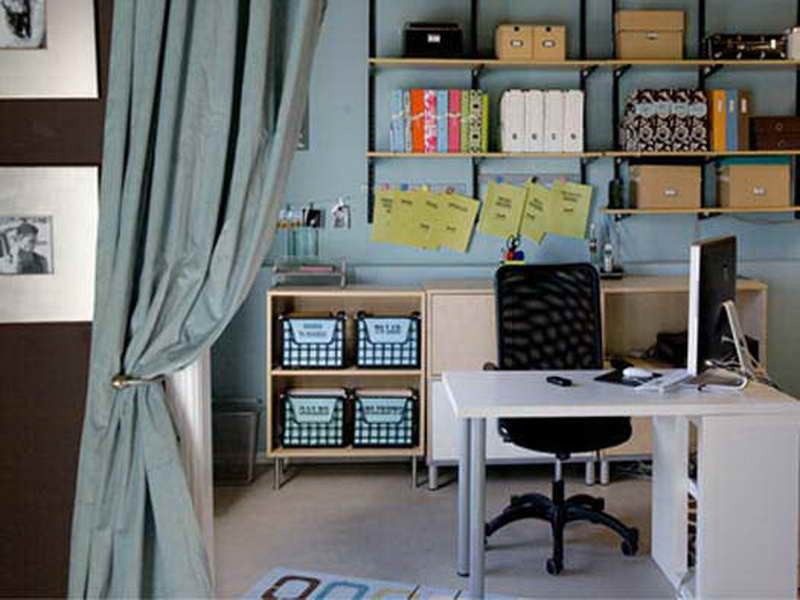 Home office decorating ideas decor ideasdecor ideas for Small work office decorating ideas