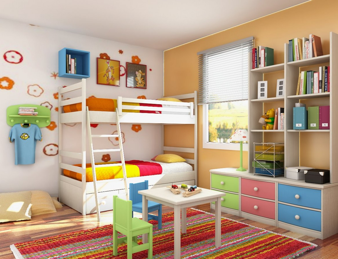 interesting photograph is segment of childrens bedroom furniture