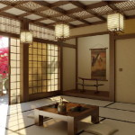 Japanese Living Room Design