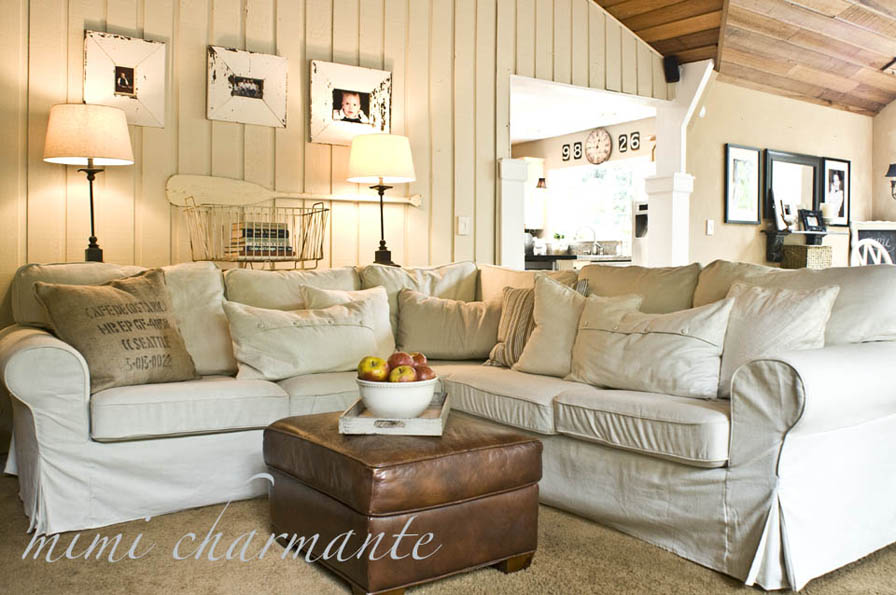 Lake house paint colors decor ideasdecor ideas - Landelijke chique lounge ...