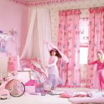 Little Girls Bedroom Curtains UK