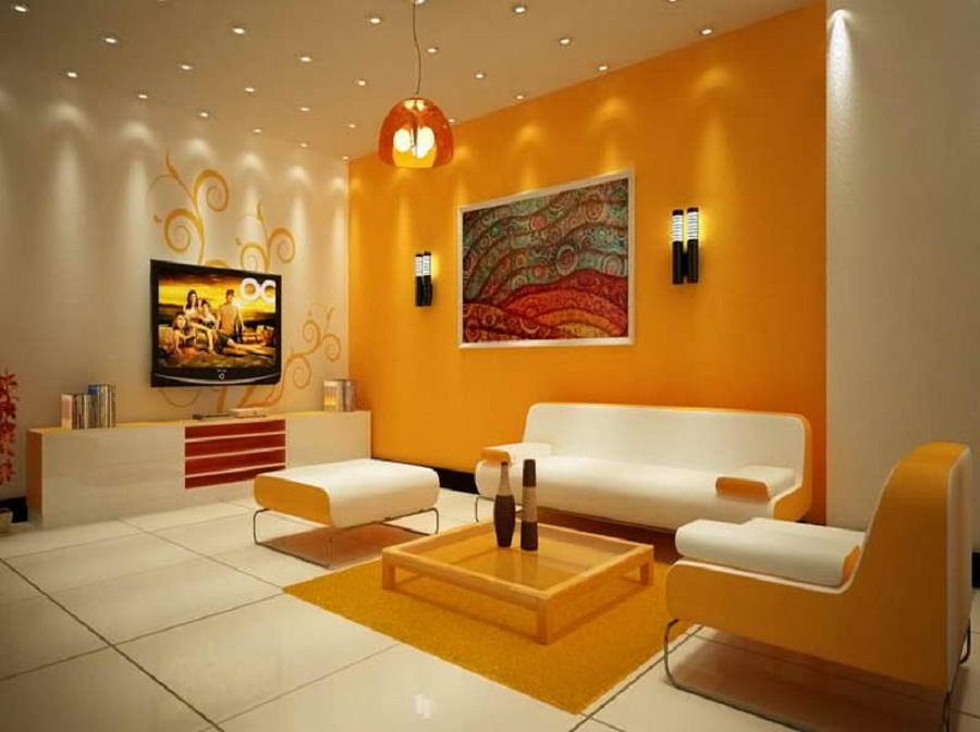 Living room color combinations for walls decor for Color combinations for living room walls