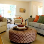 Living Room Ottoman Coffee Table