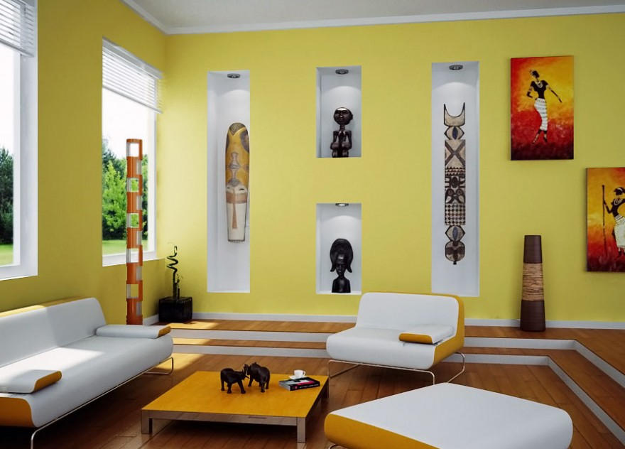 Wall Designs For Sitting Room : Living room wall color combinations decor ideasdecor ideas