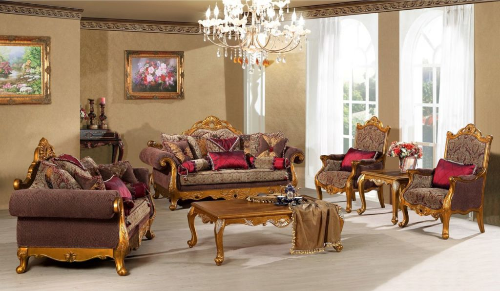Luxury living room furniture sets decor ideasdecor ideas for Upscale living room furniture