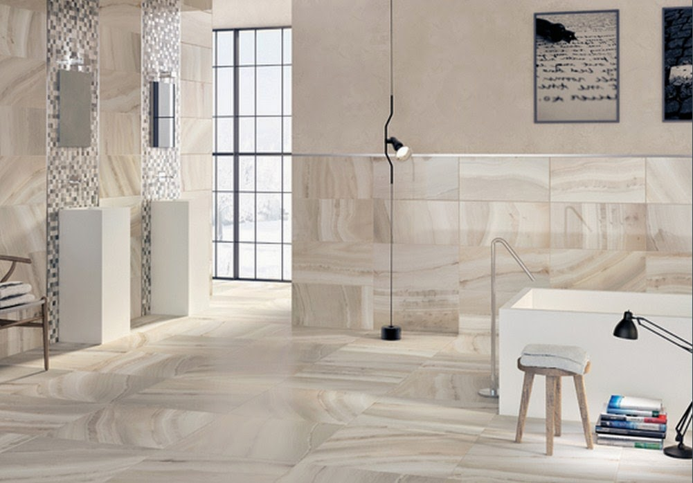 Marble bathroom floor tile decor ideasdecor ideas for Bathroom porcelain tile designs