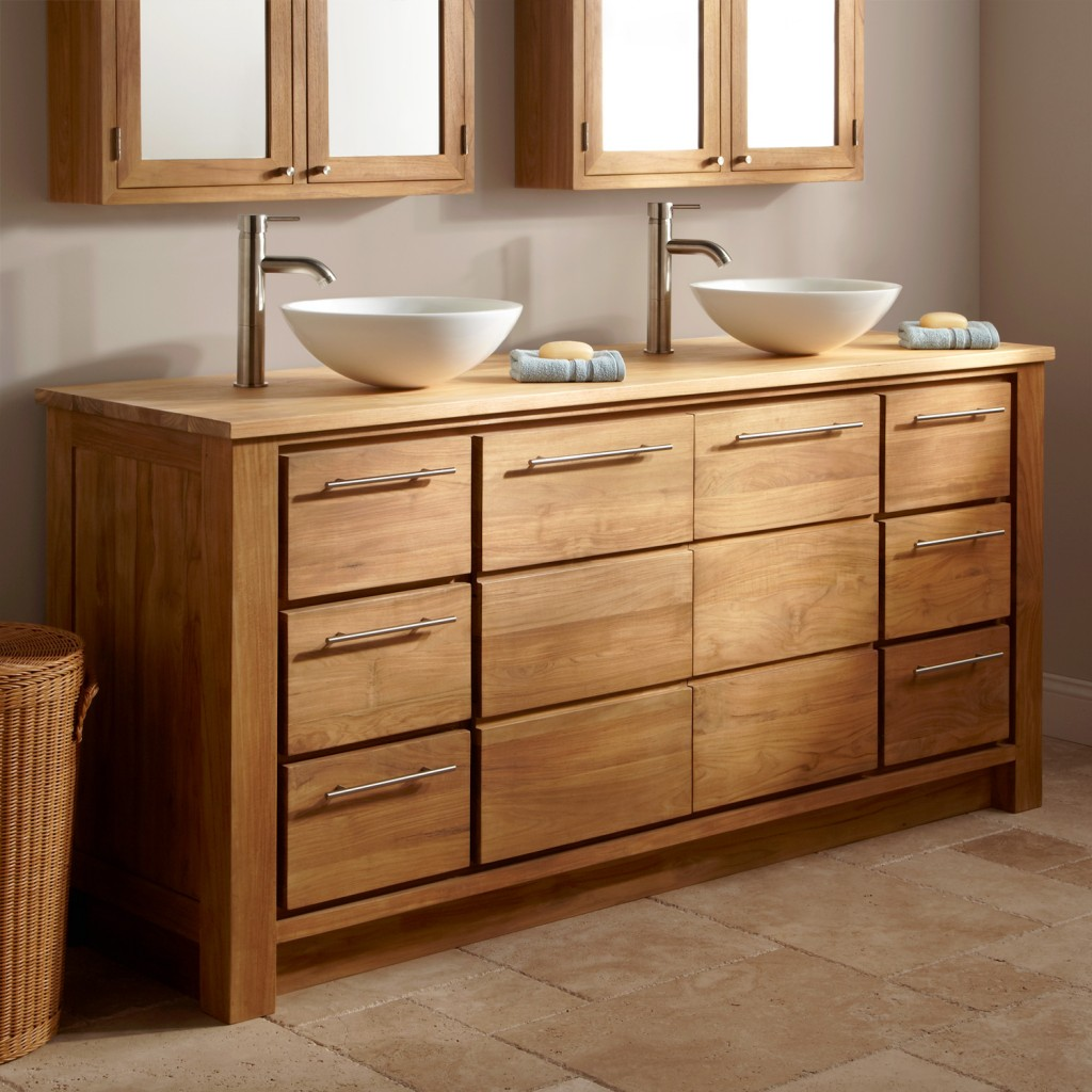 The oustanding photo is part of Styles in Bathroom Vanity Cabinets