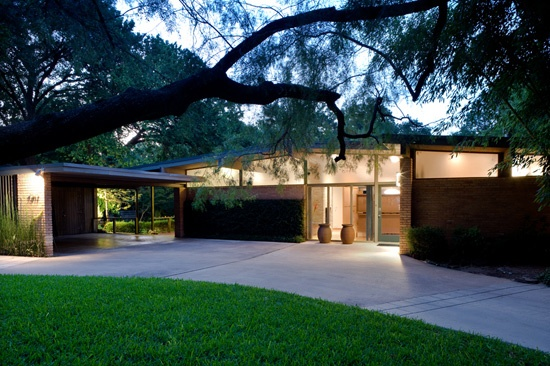 Mid century modern homes dallas decor ideasdecor ideas for Mid century modern home builders