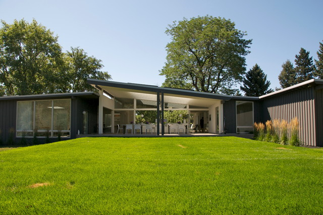 Mid century modern homes denver decor ideasdecor ideas Mid century modern home plans