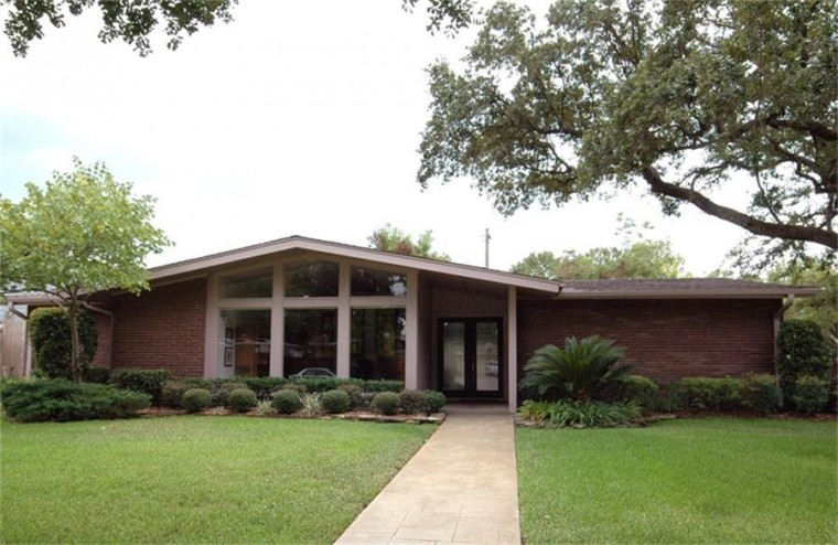 Mid century modern homes houston decor ideasdecor ideas for Modern houses in houston