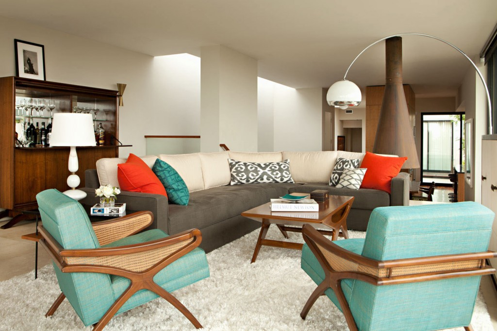 Mid century modern living room ideas decor ideasdecor ideas for Mid century modern living room chairs