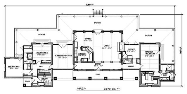 Modern ranch home plans decor ideasdecor ideas for Modern ranch home designs