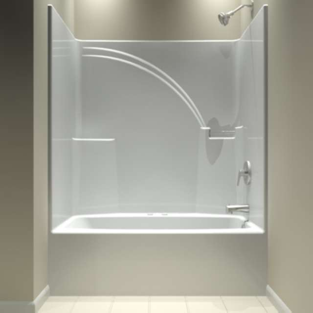 One Piece Bathtub Shower Unit Decor Ideasdecor Ideas
