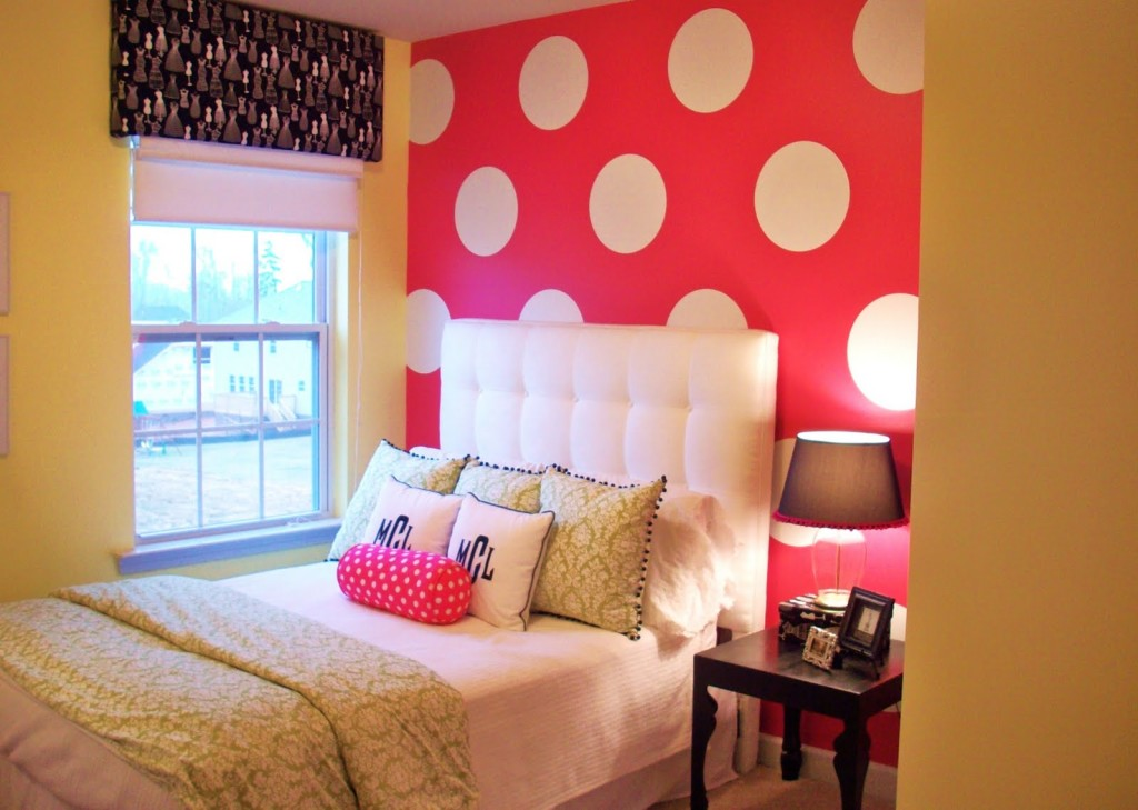 Paint color ideas for teenage girl bedroom decor for Bedroom designs girls