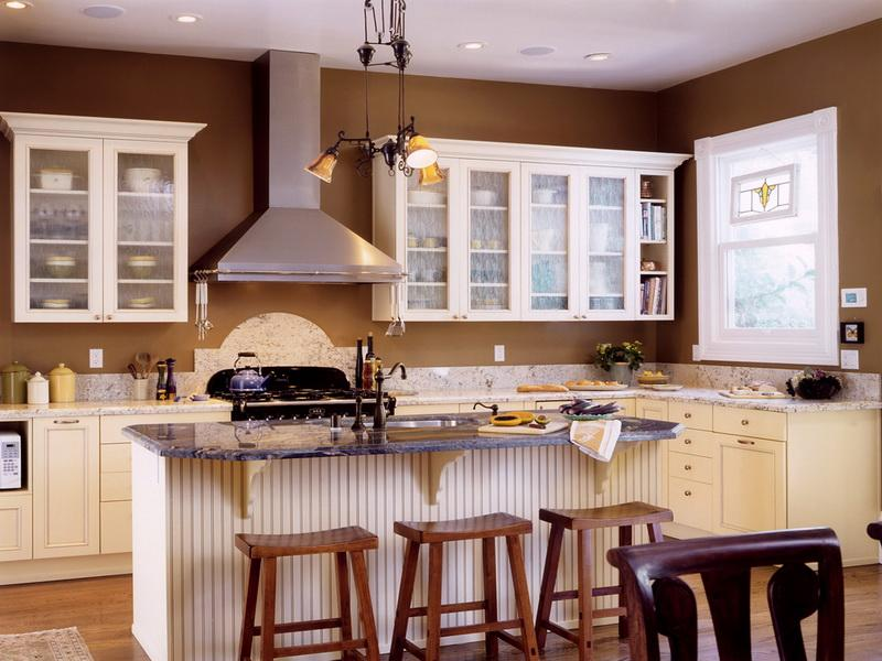 Paint colors for kitchens with white cabinets decor for Best white color to paint kitchen cabinets
