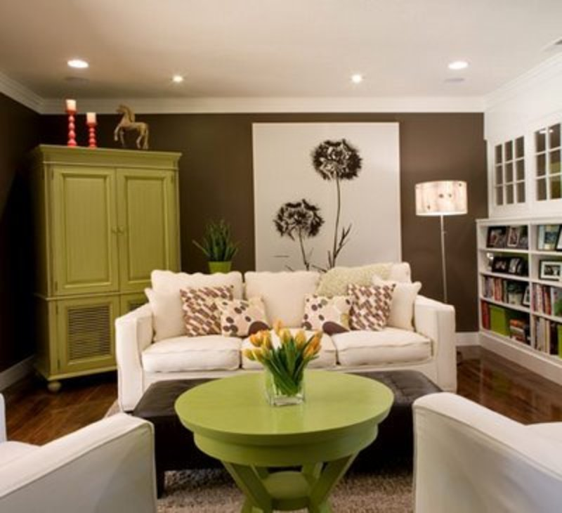 Painting Ideas For Living Rooms Living Room Wall