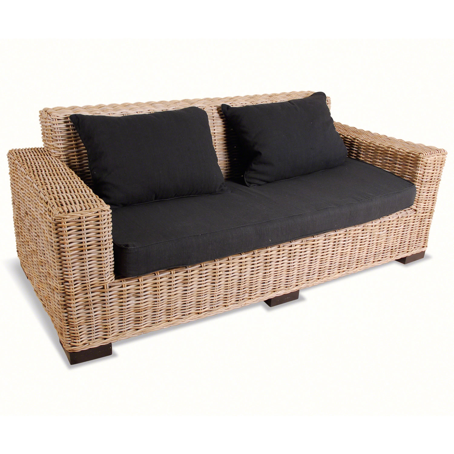 rattan 2 seater sofa decor ideasdecor ideas. Black Bedroom Furniture Sets. Home Design Ideas