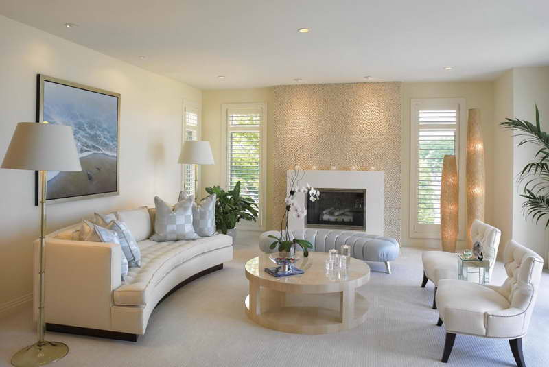 Round living room tables decor ideasdecor ideas - Circular living room design ...