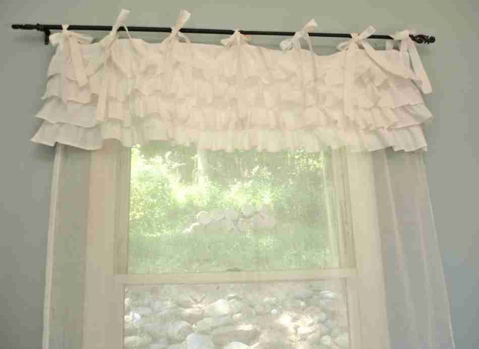 No Curtain Window Treatments Shabby Chic Bedroom Ideas