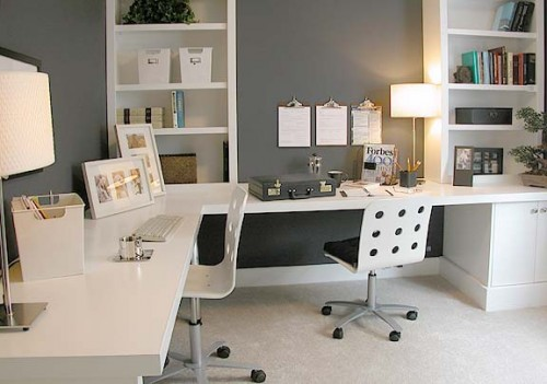 Super Cool Modern Small Home Office Design Ideas