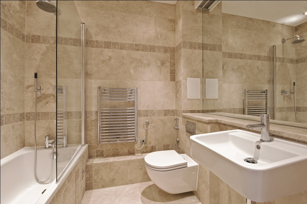 Travertine tile bathroom ideas decor ideasdecor ideas for Travertine tile bathroom gallery