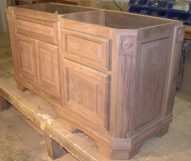 Unfinished bathroom vanity cabinets decor ideasdecor ideas for Unfinished bathroom vanities and cabinets