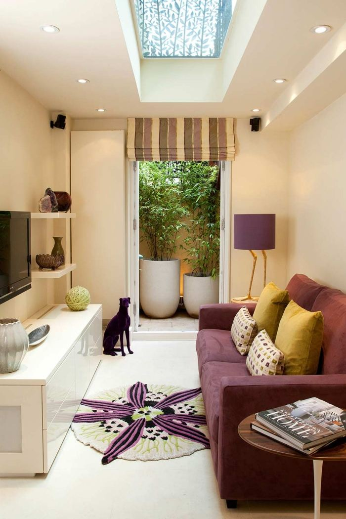 Small Living Room Decorating Tv In Front Of Window: Very Small Living Room Design