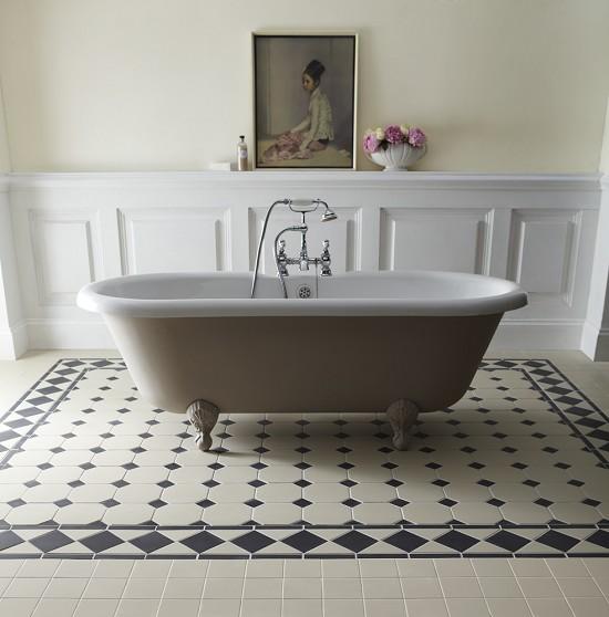 Victorian bathroom floor tiles decor ideasdecor ideas for Victorian bathroom tiles ideas
