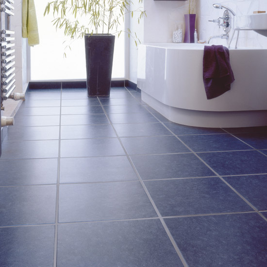 Vinyl bathroom floor tiles decor ideasdecor ideas for Vinyl flooring bathroom