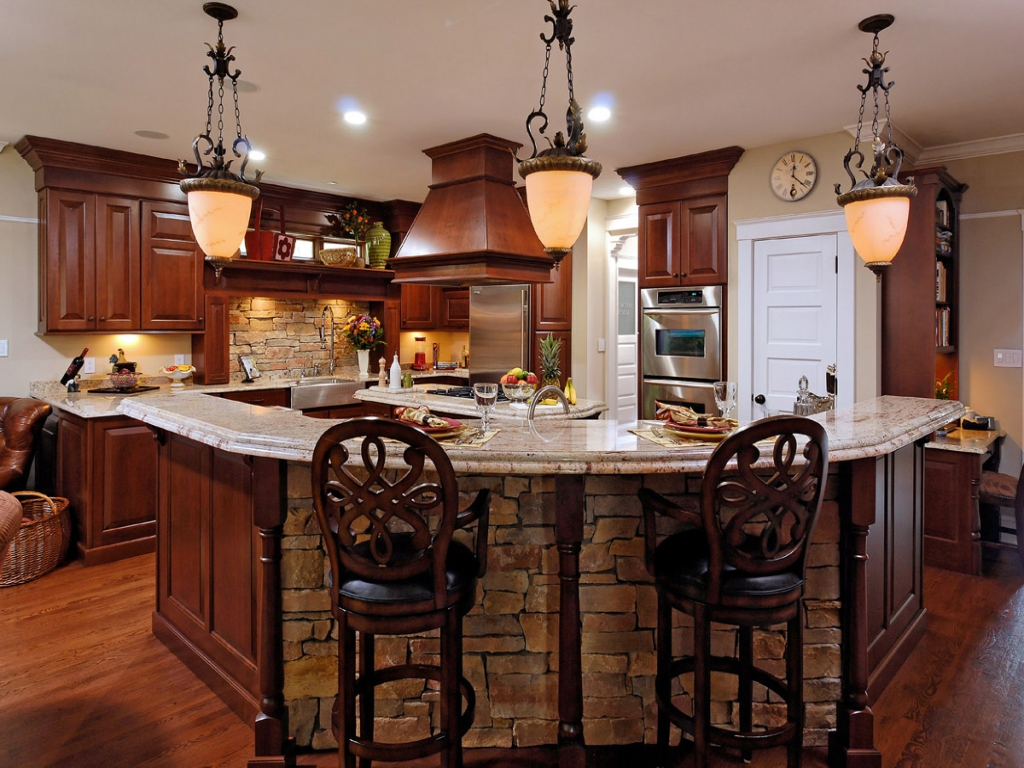 Warm kitchen paint colors decor ideasdecor ideas for Popular kitchen designs
