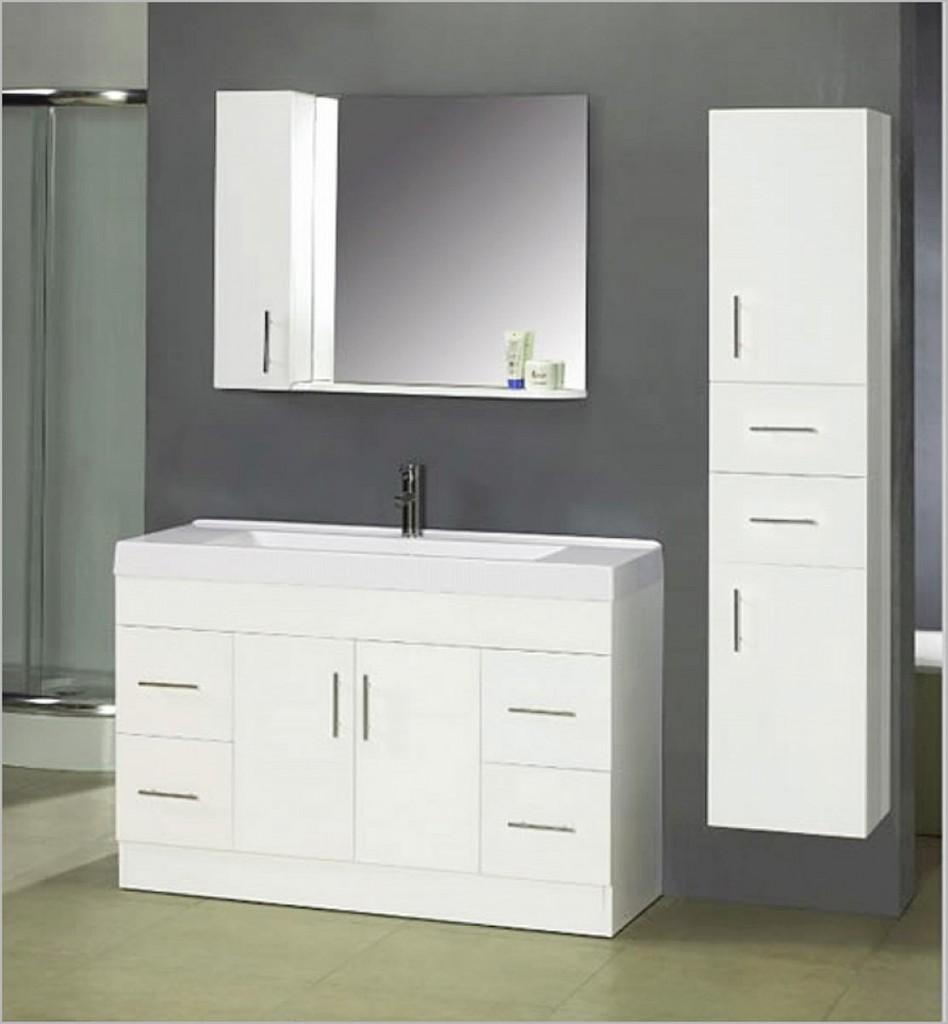 White Bathroom Vanity Cabinets Decor IdeasDecor Ideas