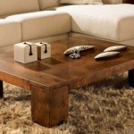 Wood Living Room Tables