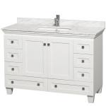 48 White Bathroom Vanity