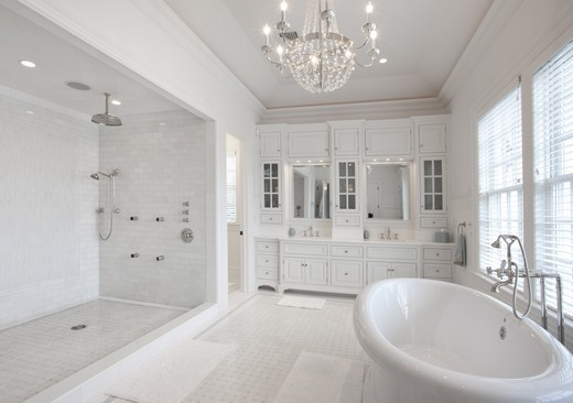 Gallery For All White Bathroom Decorating Ideas