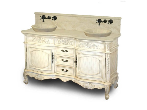 Antique White Bathroom Vanity Set  Decor IdeasDecor Ideas