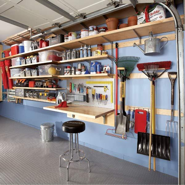 Best Garage Wall Shelving Systems