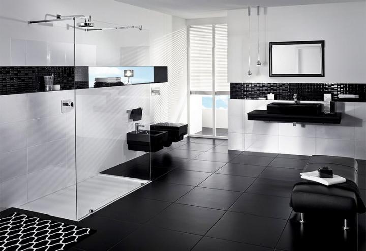black and white bathroom ideas pictures decor ideasdecor ideas. Black Bedroom Furniture Sets. Home Design Ideas